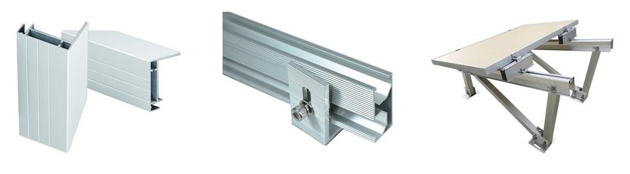 Aluminum Solar Panel Frame Aluminum Extrusions For Solar