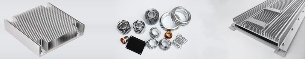 Aluminum Extruded Heat Sinks