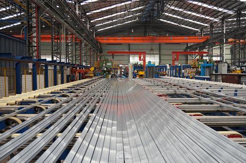aluminum extrusion manufacturing