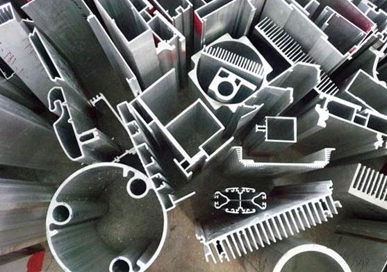 Extruded aluminium extrusions